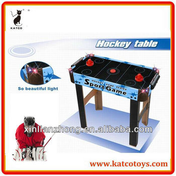 flashing air hockey table game toys music
