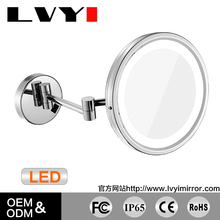 LY-1807D bathroom lighting magnifying makeup mirror