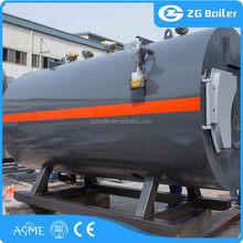 Alibaba new design harga oil gas steam boiler 1 ton