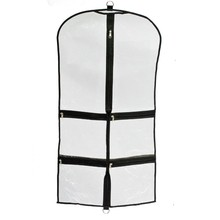 2017 new design plastic garment bag transparent students unifrom garment bags can custom kids garment bags for sale