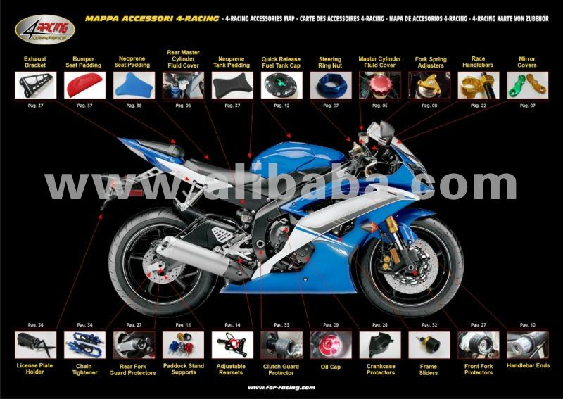 Various Motorcycle Accessories