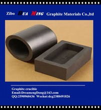 Gold melting graphite crucible of Super quality and high purity,reliable marker