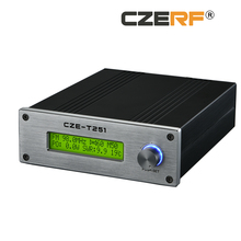CZE-T251 25w wireless Stereo PLL FM Transmitter Radio Station Equipment for Sale
