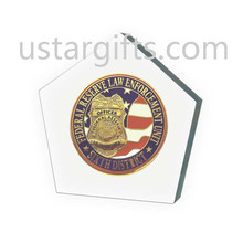 Soft enamel custom five pointed star shape challenge coins