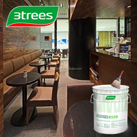 3TREES High Performance Wood Floor Lacquer Furniture With Black Color (SEALER)