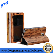 wooden Leather cover case/ skin For Samsung Galaxy Note 3 III N9000