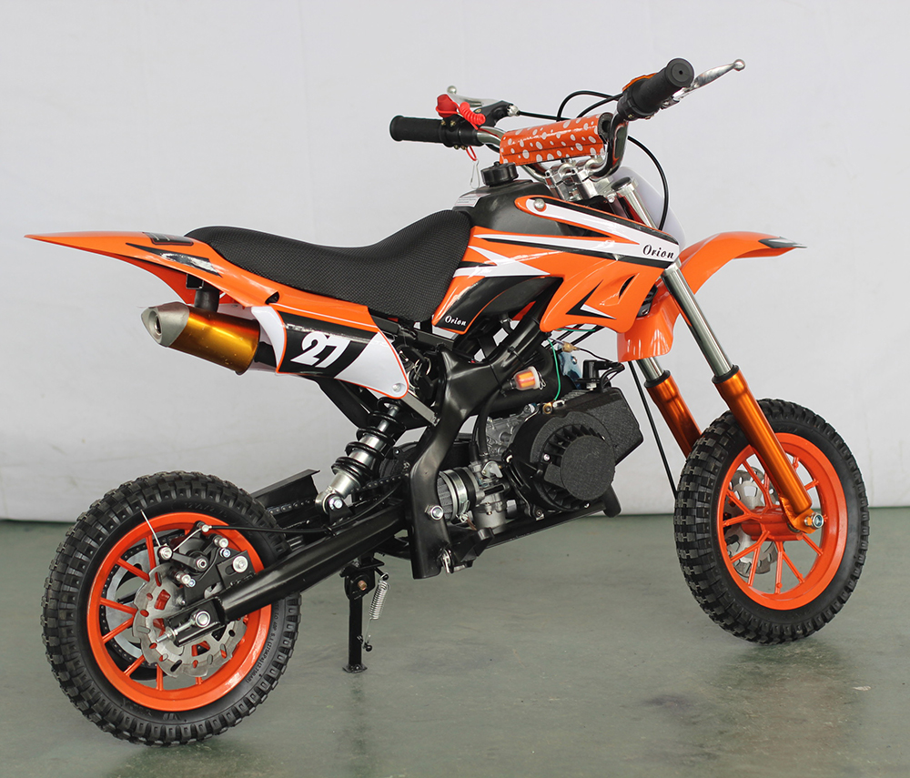 Gas-powered mini cheap 49cc street legal dirt bike for sale