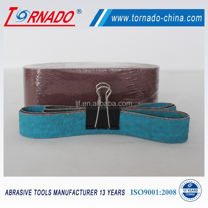 TORNADO zirconium sanding belt for granite polishing