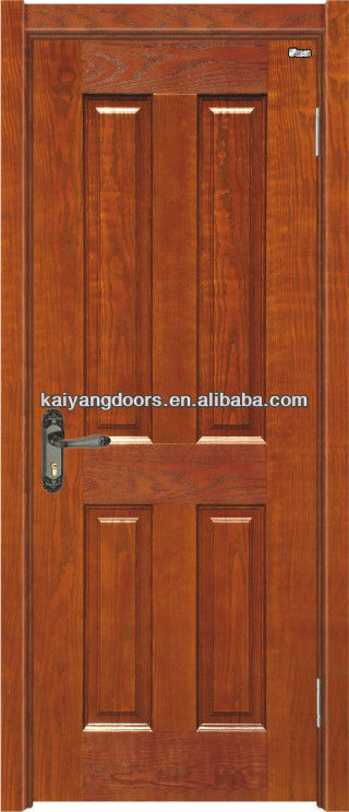 Kaiyang interior solid meranti/oak/maple/teak/mahogany veneer wooden design door