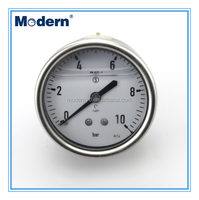 Excellent quality SS liquid filled pressure gauge