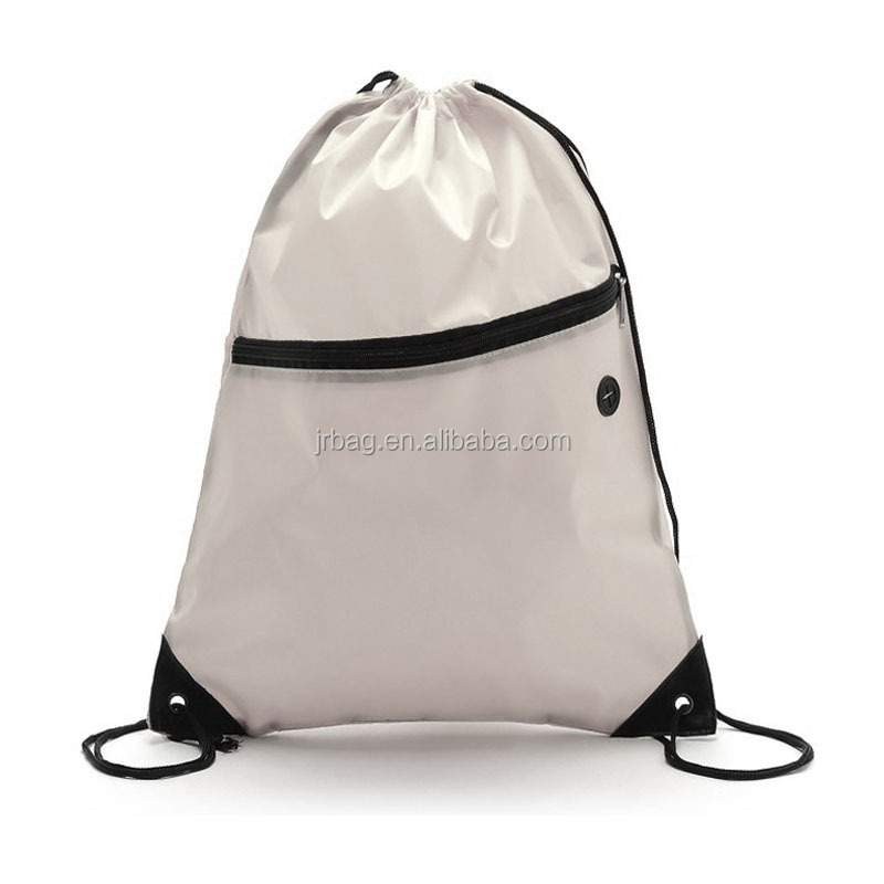 Eco-friendly shoe drawstring bag drawstring backpack/badminton sports drawstring bag/plain drawstring backpack bag