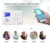 External RFID card supported TFT touch screen wireless WIFI GSM 3G home house store safety alarms