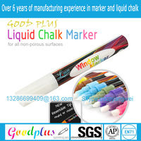 jumbo white chalk- white/blue/green/yellow/pink/orange/black/red/purple marker pen/liquid chalk