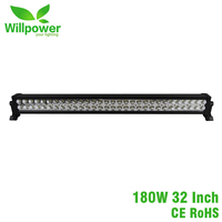 Wholesales CE ROHS waterproof 110v work light bar car offroad 72w to 300w led light bar