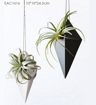 Concrete Flower Plant Hanging Planter Pot Flower Vase