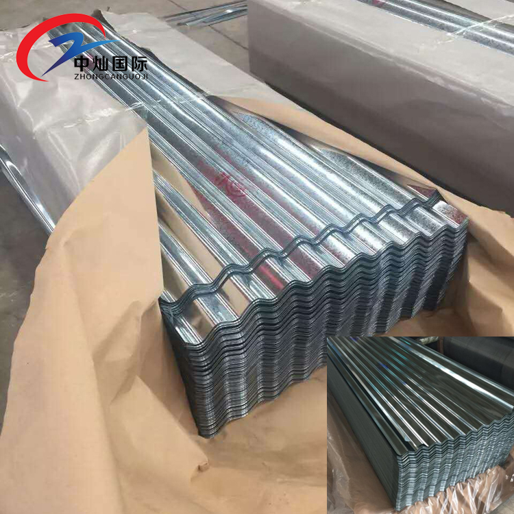 Roof galvanized / iron roofing sheet / wavy zinc plates with Form R of China