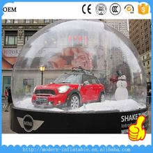 christmas transparent inflatable indoor snow globes
