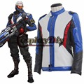 Game Overwatch OW Soldier 76 Jack Adult Men Halloween Cosplay Costume Custom Made