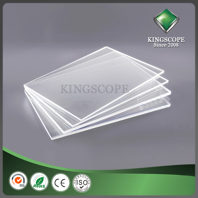 Transparent cast acrylic sheet plexiglass