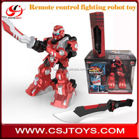 New Arrivel wholesale toy Infrared Hand sword Remote control fighting Robot toy with special packing