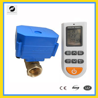 Heater hot water electrical ball valve for apartment heating system