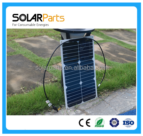 China Factory Cheap Price 18W 18V High Efficiency Flexible Solar Panel