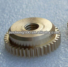Non - standard copper gear for motor CNC spare part in China