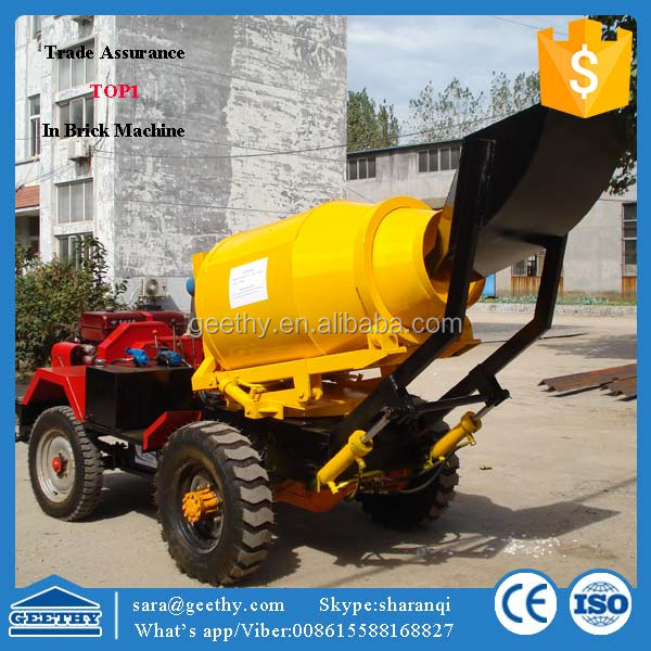 used portable concrete mixer for sale GT80 concrete mixer truck dimensions