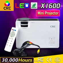 The lowest price better choice for Home Theater 1000 lumens 1000/1 contrast mini projector 1080p
