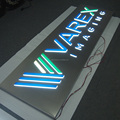 Rectangle Light Box with Acrylic Letters for Outdoor Use