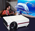 CRE X1500 New HD 1280*800 720p Support 1080p High definition 2800lumens LED Interactive Daylight Projector