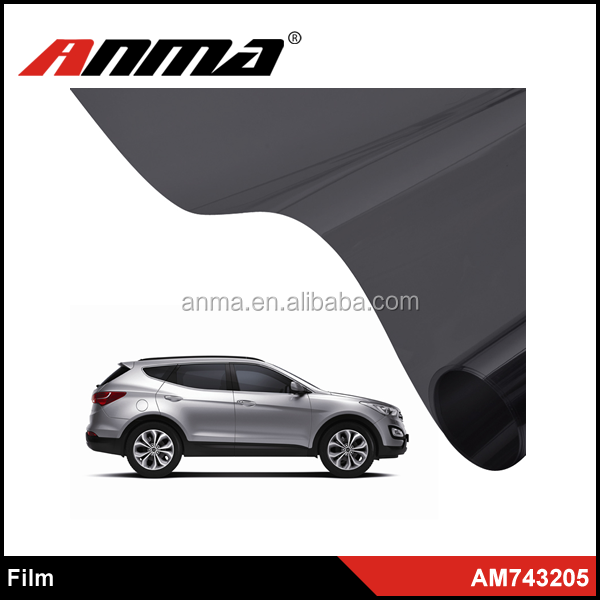 High quality car window film black / car window tint film
