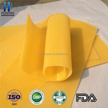 beeswax foundation sheet/ beehive foundation with natural beeswax