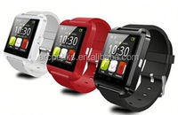 2015 Hot Sale Waterproof Sync Phonebook U8 Smart Watch in China