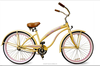 26 inch beach cruiser bike beach cruiser bicycle girl curiser lady bike 2015 new model new style hot sale with CE,OEM