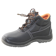 NMSHIELD low price cow split leather wholesale work boots
