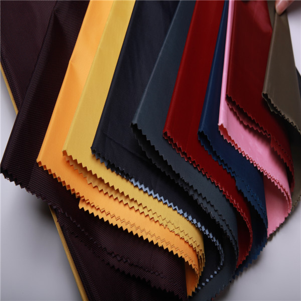 eco-friendly recycled pet textile/rpet fabric 420D oxford for bags
