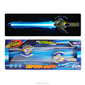 DJ2602049 New toys for boys 2018 Space laser flash music sword deform knife with colourful led light for boys game play