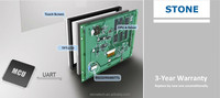 "7"" touch screen HMI for electronic automation"