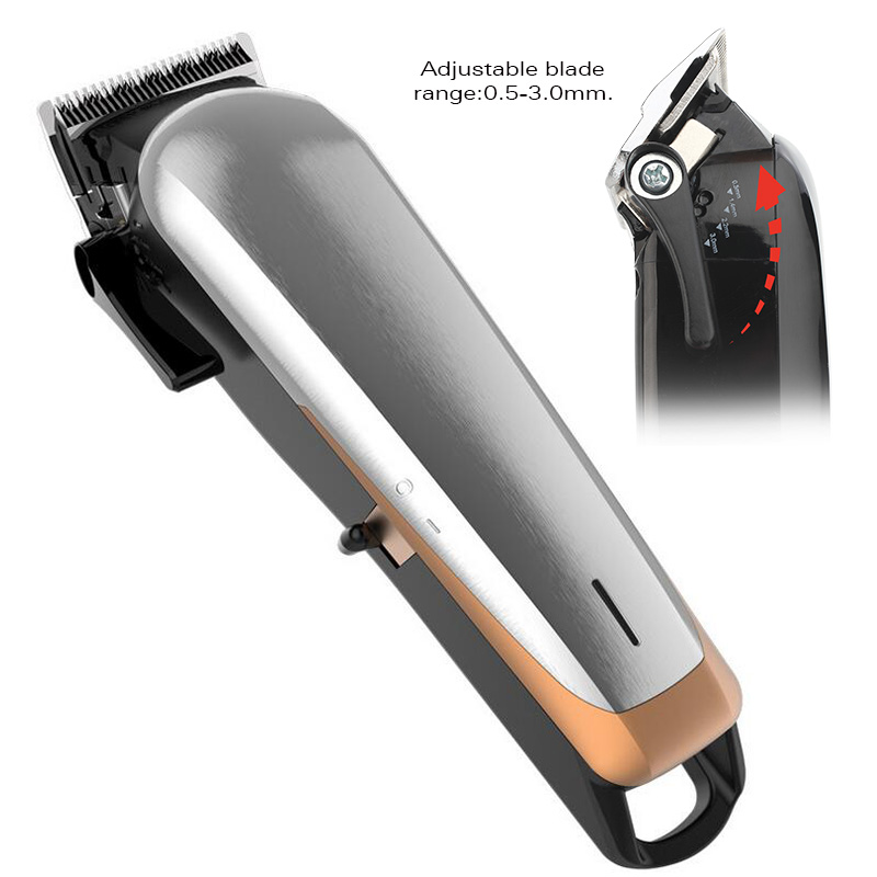 WMARK Professionelle Cordless Salon Baber einstellbare länge mit Stagger-Zahn klinge Haar clipper Haar Trimmer