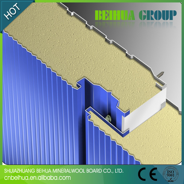 Price of metal eps sandwich panel/steel polystyrene panel sandwich factory