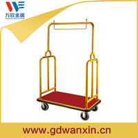 2015 New Design Hotel Bellman Luggage Hand Trolley For Sale