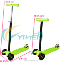 125mm mini folding kids foot scooter