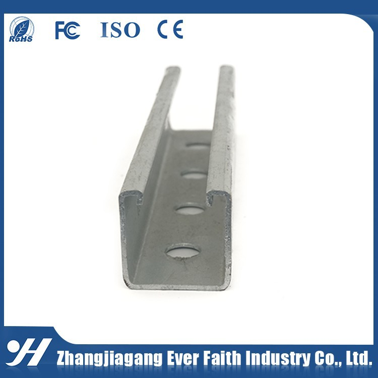 Cold Formed Steel Profile C Channel Hot Dip 304 Stainless Steel Channel