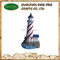 Custom Design Resin Replica Building, Polyresin Lighthouse