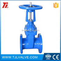 rising Casting knife gate valve with pneumatic actuator rising stem gate valve Water Low Pressure