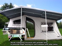New vinyl fabric tentand awning roofing