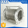 pipe vibration isolator concrete metal reinforced bellows stainless steel expansion joint