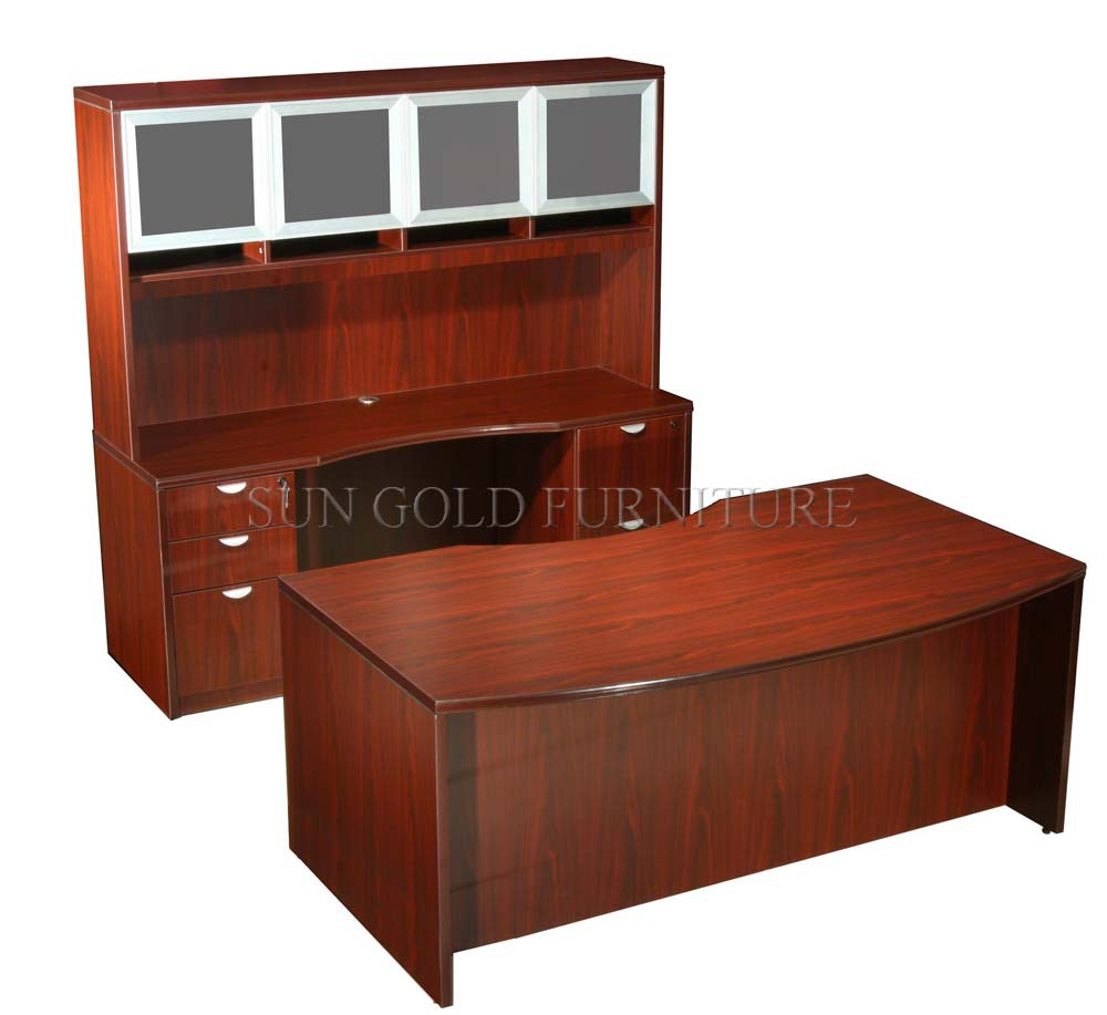 wood office cabinet. High Quality Office Table Old Fashioned Desk Wooden Design (SZ-OD250) Wood Cabinet P