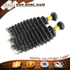full cuticle nature unprocessed one doner malaysian brazilian deep wave hair braiding hair
